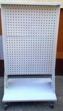 DOSTAWA GRATIS! 77157363 Wózek narzędziowy z tablicami perforowanymi (wymiary: 1600x850x600 mm)