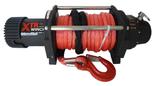 DOSTAWA GRATIS! 81868074 Wyciągarka XTR 13500lbs [6130kg] SPEED z liną syntetyczną czerwoną 12V (średnica liny: 10mm, długość liny: 25m)