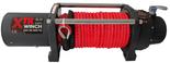 DOSTAWA GRATIS! 81874270 Wyciągarka XTR 8000 lbs [3629 kg] z liną syntetyczną w oplocie z dużym hakiem 12V (średnica liny: 11mm, długość liny: 25m)