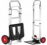 DOSTAWA GRATIS! 99673977 Wózek magazynowy transportowy składany alu (udźwig: 90 kg)