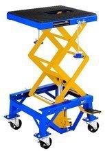 Podnośnik motocyklowy na kołach (udźwig: 135 kg, wymiary platformy: 410-350 mm, wysokość podnoszenia: 350-870 mm) 45674755