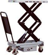 Ruchomy stół podnośny elektryczny (udźwig: 800 kg, wymiary platformy: 1010x520 mm, wysokość podnoszenia min/max: 510-1460 mm) 310568