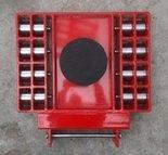 Stalmechon Wózek skrętny do transportu maszyn, urządzeń i sprzętu (rolki: 16x stal, nośność: 36 ton) 50276386
