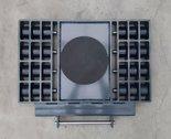 Stalmechon Wózek skrętny do transportu maszyn, urządzeń i sprzętu (rolki: 18x poliamid, nośność: 20 ton) 50276387