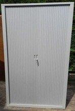 Szafa biurowa, drzwi żaluzjowe (wymiary: 2000x1200x400 mm) 77170729