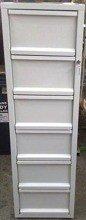 Szafa kartotekowa, 6 szuflad A4 (wymiary: 1510x435x530 mm) 77157114