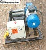 Tretos 28863935 Elektryczna wciągarka linowa (siła uciągu: 640/475  kg, długość liny: 160m, moc: 2,2kW)