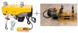 Tretos Wyciągarka linowa elektryczna Industrial 500/990 230V, stare 1200 kg + wózek elektryczny 1T - szerokość belki dwuteownika do 220mm Bez UDT!!! 28868910