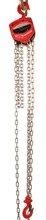 Wciągnik łańcuchowy ręczny (udźwig: 5,0 T, długość łańcucha: 3m) 03076086