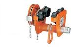 Wózek jezdny ręczny z napędem łancuchowym (udźwig: 2 T, wysokość podnoszenia: 3 m) 90-135 mm 85068221