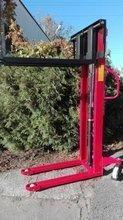 Wózek masztowy ręczny (udźwig: 1000kg, długość wideł: 1150mm, wysokość wideł min/max: 90/2500 mm) 62678278