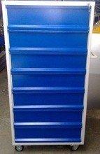 Wózek narzędziowy, 7 szuflad (wymiary: 1500x800x600 mm) 77157353
