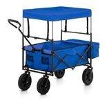 Wózek ogrodowy składany Uniprodo - 100 kg - niebieski 45675954