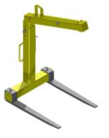 Zawiesie widłowe + łącznik do rotatora 2,5 t (udźwig: 2 T, długość wideł: 980 mm) 33977117
