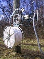 68987 Wciągarka spalinowa do linii napowietrznych (maks. siła uciągu: 400 kg, prędkość wciągania: 0-30 m/min
