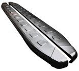 DOSTAWA GRATIS! 01655978 Stopnie boczne, czarne - Toyota Rav4 5D 2013+ (długość: 171 cm)