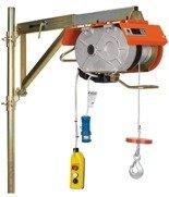DOSTAWA GRATIS! 02568944 Wyciągarka budowlana elektryczna linowa (udźwig: 200 kg, długość liny: 40m, moc: 2,2kW)