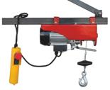 DOSTAWA GRATIS! 08126408 Wciągarka elektryczna linowa budowlana (udźwig: 100/200 kg)