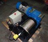 DOSTAWA GRATIS! 28872831 Elektryczna wciągarka linowa bez ramki (siła uciągu: 850 kg, długość liny: 30m, moc: 3kW 400V)