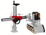 DOSTAWA GRATIS! 44350014 Posuw mechaniczny Holzmann (prędkość posuwu: 4/8/10/20 mm, średnica rolek: 120x60 mm)