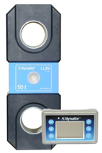 DOSTAWA GRATIS! 44929996 Precyzyjny dynamometr z wyświetlaczem do pomiaru sił rozciągających oraz ciężaru zawieszonych ładunków Tractel® Dynafor™ LLXH (udźwig: 50 T)