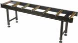 DOSTAWA GRATIS! 55872183 Stojak wsporczy z 7 wałkami (udźwig: 800 kg, długość stołu: 1995mm, wysokość: 615-1070 mm)