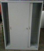 DOSTAWA GRATIS! 77157217 Szafa narzędziowa, drzwi przesuwane, 4 półki regulowane (wymiary: 2000x1200x500 mm)