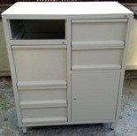 DOSTAWA GRATIS! 77157247 Szafa narzędziowa, 5 szuflad, 1 szafka (wymiary: 1500x800x500 mm)