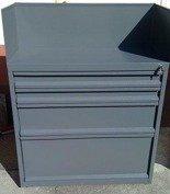 DOSTAWA GRATIS! 77157269 Szafa narzędziowa z nadstawką, 4 szuflady (wymiary: 1000x800x500 mm)