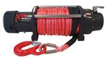 DOSTAWA GRATIS! 81845243 Wyciągarka XTR 12000lbs [5443kg] SPEED z liną syntetyczną czerwoną z hakiem zdejmowanym 12V (średnica liny: 8mm, długość liny: 25m)