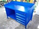 Stół ślusarski, 4 szuflady (wymiary: 1500x750x900 mm) 77170672