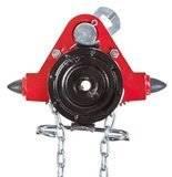 Wózek jednobelkowy z napędem ręcznym - wersja przeciwwybuchowa (wysokość podnoszenia: 3m, szerokość stopy belki: 50-226mm, udźwig: 1 T) 22076977