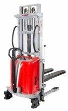 Wózek podnośnikowy półelektryczny (wysokość unoszenia: 3500mm, udźwig: 1000 kg) 31066199