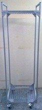 Wózek z półkami ażurowymi (wymiary: 1700x500x480 mm) 77157395