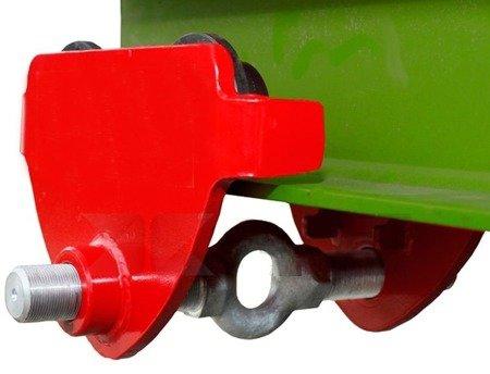 Wózek przejezdny do wciągnika (udźwig: 3,0 T, szerokość belki jezdnej: 160-300 mm) 0301433