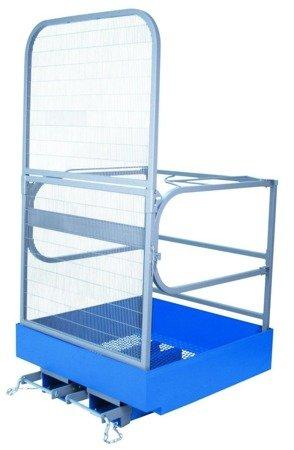 99746685 Kosz roboczy do wózka widłowego GermanTech (wymiary: 1000x1000 mm)