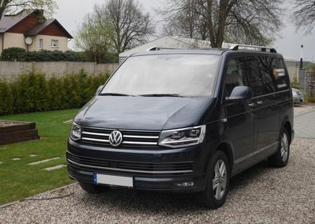 DOSTAWA GRATIS! 01672160 Relingi dachowe do Volkswagen T5 2003-2014 ALU long
