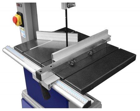 DOSTAWA GRATIS! 02869820 Piła taśmowa ze wskaźnikiem laserowym (średnica kół: 350mm, maks. szerokość cięcia: 335mm, moc silnika: 1,1 kW)