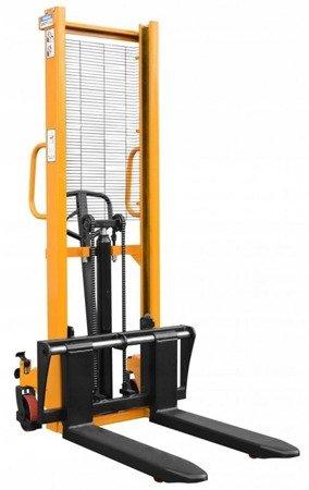 DOSTAWA GRATIS! 02869874 Wózek paletowy z regulowanymi widłami (udźwig: 1000 kg, długość wideł: 1150mm, wysokość podnoszenia: 1600mm)