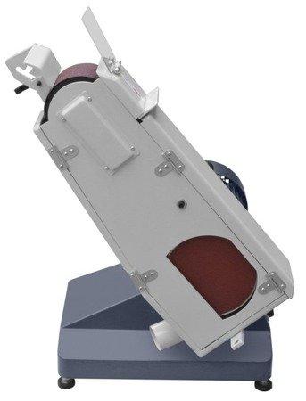 DOSTAWA GRATIS! 02876258 Szlifierka taśmowa tarczowa (wymiary taśmy ściernej: 75x1220 mm, moc silnika: 1,5/ 1,8 kW)