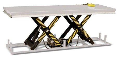 DOSTAWA GRATIS! 31070593 Stacjonarny stół podnośny (udźwig: 2000 kg, wymiary stołu: 2500x820 mm, wysokość podnoszenia min/max: 205-1000 mm)