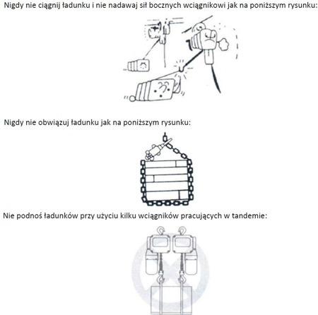 DOSTAWA GRATIS! 33971038 Wciągnik łańcuchowy elektryczny + wózek z silnikiem elektrycznym (udźwig: 5 T, wysokość podnoszenia: 6 m, zakres: 180-239 mm)