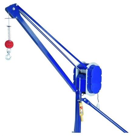 DOSTAWA GRATIS! 37515642 Wciągarka linowa budowlana (udźwig: 300 kg, długość liny: 30m)