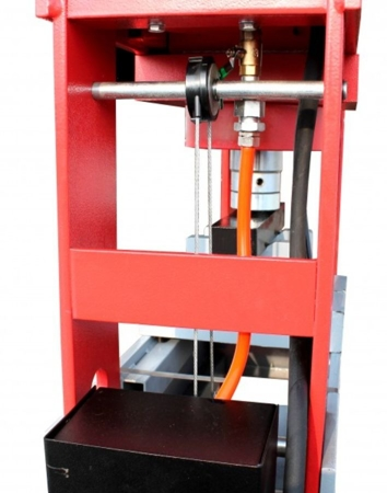 DOSTAWA GRATIS! 44350110 Prasa warsztatowa hydrauliczna Holzmann (siła nacisku: 100 T)