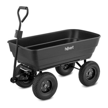 DOSTAWA GRATIS! 45675957 Wózek ogrodowy Hillvert - 350 kg - 125 l