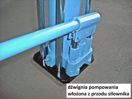 DOSTAWA GRATIS! 48871643 Podnośnik kanałowy (udźwig: 3,5T)