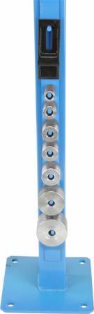 DOSTAWA GRATIS! 55872928 Giętarka profilów stojakowa (stal płaska: 8x50 mm, stal okrągła lub graniasta 16x16)