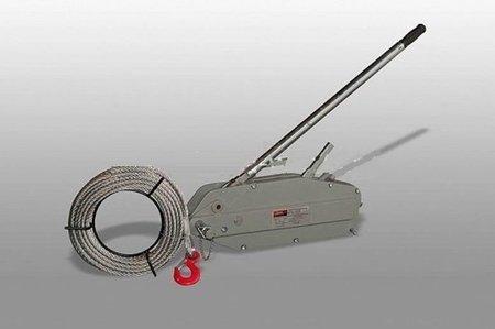 DOSTAWA GRATIS! 62666916 Przeciągarka linowa ręczna, rukcug (udźwig: 3200kg, długość liny: 20m)