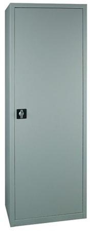 DOSTAWA GRATIS! 77170721 Szafa biurowa, 1 drzwi, 4 półki regulowane (wymiary: 2000x500x460 mm)