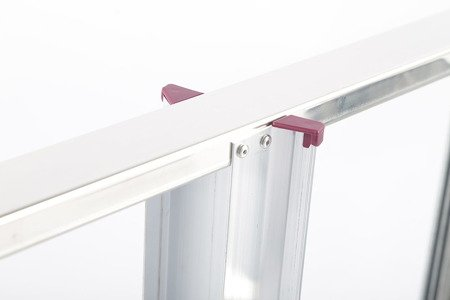 DOSTAWA GRATIS! 99674644 Aluminiowa drabina domowa Krause Corda 6 stopnie (wysokość robocza: 3,20m)